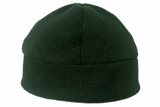 Forest green windproof beanie