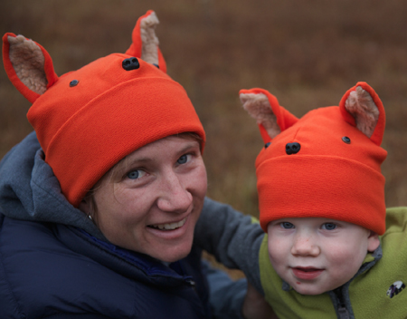 Polar fleece what does the fox say hat childrens, infant, baby and adult