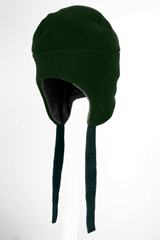 mountain bomber hat all green